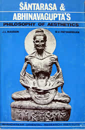 Santarasa and Abhinavagupta's Philosophy of Aesthetics